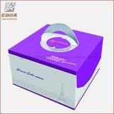 Коробка 2017 пирожня коробки торта качества еды бумажная для оптовой продажи