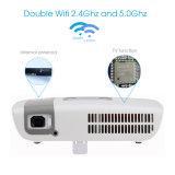 涼しいスクリーン2.4G/5gネットワーク無線電信プロジェクター