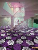 Tecidos de tapete Wilton para fins comerciais, Hotel Club, Cinema utilizado