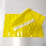 Sacchetto di spedizione di plastica della busta di colore giallo promozionale