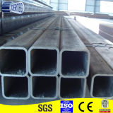 Una buena calidad de gran tamaño de tubo de acero cuadrado negro 250x250