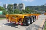 40 pieds conteneur squelettique tri essieux remorque
