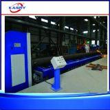 Máquina de estaca resistente da flama do plasma do CNC para a tubulação/câmara de ar grandes do diâmetro