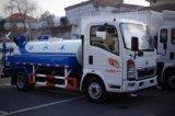 Sinotruk HOWO 4X2 4, 소형 물 트럭 물 물뿌리개 트럭 000 리터 Cummins Engine 129HP