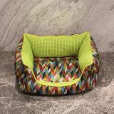 Base molle calda del cane dei prodotti dell'animale domestico del sofà delle basi del cane con la stuoia smontabile