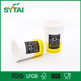 doppel-wandige Papierisoliercup des heißen Kaffee-10oz/12oz
