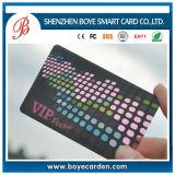 Transparente Impressão em offset laminado Design personalizado Impressão Cartão de visita de plástico