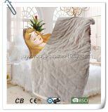 Verwarmd Elektrisch van het Flanel van de luxe werpt voor Warm Uw Lichaam