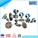Transmissor de pressão diferencial esperto industrial das altas temperaturas com flange & diafragma