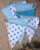 El algodón Bunting banderas