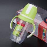 A1-PPSU com o frasco de alimentação do tampão e do punho do círculo boca larga BPA livre