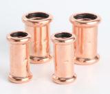 Conexão da tubulação de cobre para água e gás