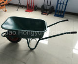 Wheelbarrow plástico da bandeja