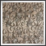 Nylon земная ткань шнурка вышивки сетки цветка