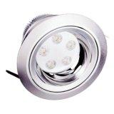 testa registrabile LED Downlight (RL-K1026) della lampada di 5*1W /5 *3W