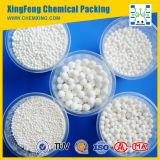 Bola de alúmina activada para la adsorción en la producción de H2O2