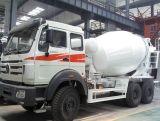 Vehículo de construcción China Beiben cemento para la venta de camiones hormigonera