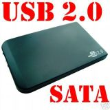 USB 2.0 de 2,5 para o compartimento de disco rígido SATA/IDE (HS-HDB-250A)