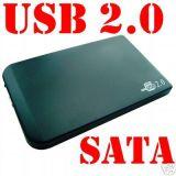 """USB 2.0 2,5"""" для жестких дисков SATA и IDE дисков (HS-hda-250A)"""
