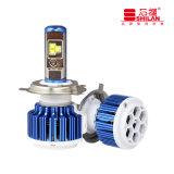 普及した車LEDの電球T3 H4 40W LEDの自動車ランプ
