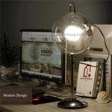 حديثة [سب بوبّل] [تبل لمب] مستديرة واضحة زجاجيّة طاولة [ليغتينغس] لأنّ بينيّة غرفة نوم إستعمال قراءة ضوء
