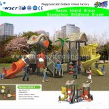 Cour de jeu extérieure d'enfants de nouvelle conception avec le toit (M15-0016)