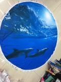 Романтический стиль моря круглый пляж полотенце с MOQ 100 ПК