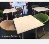 Corian 니스 디자인 호텔 로비 가구 커피용 탁자