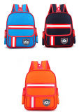 Três cores do jardim de infância mochila Imprimir Aluno Pack Cartoon Saco de ombro com duas vezes