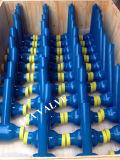 Válvula de esfera soldada do furo gás cheio para Gazprom Rússia