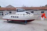 A capota rígida de 7,5 m barco de pesca de cabina para venda
