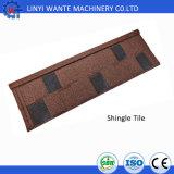 Элегантный Шингл камня покрытием металлической крышей плитки для Biulding материалов