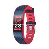 適性のスマートなリスト・ストラップのPassometerの血圧の心拍数のモニタのスマートなブレスレット