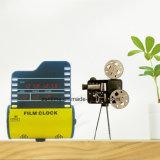 Reloj electrónico del regalo del carrete de película del LED Digital con el calendario y la alarma