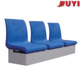 공장 가격 운동장 옥외 분말 코팅 강철 다리 스포츠 경기장 HDPE 플라스틱 안정 3-Seater 기다리는 의자
