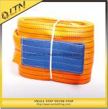 드는 눈 편평한 가죽 끈 새총 (NHWS-A)를 위한 벨트 폴리에스테 오렌지