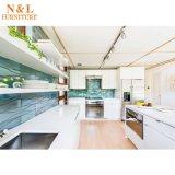 Module de cuisine en bois de meubles de maison de modèle modulaire de N&L