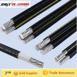 Gesprungener service Absinken-Aluminium Luftleiter des Kabel-(ABC-Kabel) Duplex