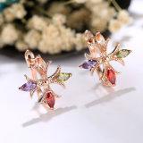 La Chine Le commerce de gros 925 Sterling Silver ensemble bague en laiton Earring Necklace Mode bijoux