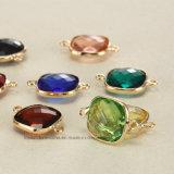 方法ネックレス14mmの正方形の女性のダイヤモンドの衣裳のための水晶ラインストーンの魅力の女性宝石類のラインストーン