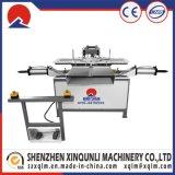 Machine semi-automatique de coussin de revêtement de cuir de tissu