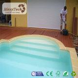 Decking en bois imperméable à l'eau de tenue de protection individuelle des prix bon marché WPC pour la piscine