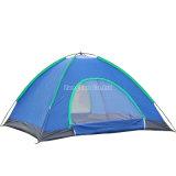 クラシック4人のテント、二重層の湖畔のキャンプテント