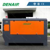 Diesel de Denair - barra dobro montada patim psta do compressor de ar 10 do parafuso/185 libras por polegada quadrada