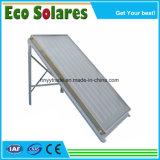 Revêtement en titane Bleu de la plaque plat/collecteur solaire chauffe-eau solaire pour la fourniture de projet d'eau chaude
