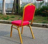 연회 의자 알루미늄 연회를 겹쳐 쌓여서 강철 프레임을 착석시킨다