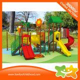 Le jouet extérieur d'enfants de matériel de cour de jeu glisse pour le stationnement