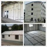 Incombustible Anti-Earthquake cemento EPS EPS/Panel Sandwich Panel Sandwich para pared