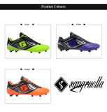 Commerce de gros Mens Outdoor gazon Soccer Cleats chaussures de football pour la vente