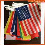 Drapeau Bunting/ chaîne internationale d'un drapeau